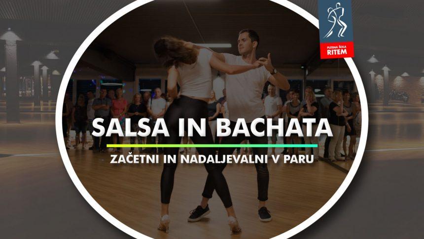 Salsa in Bachata v paru